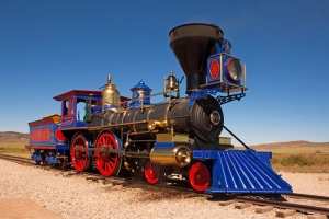 Jupiter Locomotive, Golden Spike National Historic Site, Promontory Summit, Utah