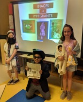 Children whose ancestors are Jewish, Italian, and Irish